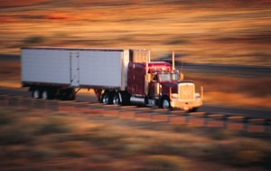 tractor-trailer image