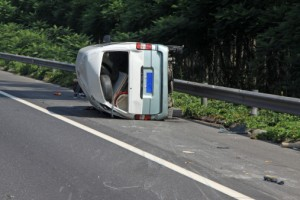 rollover accident image